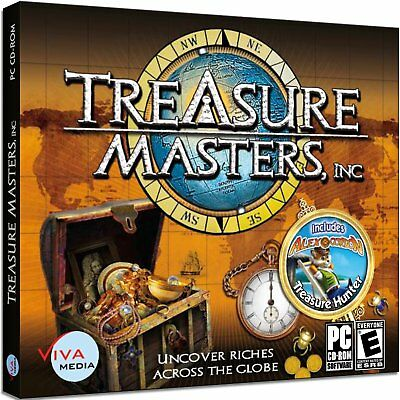 Computer Games - Treasure Masters Inc. PC Games Windows 10 8 7 XP Computer Games hidden object