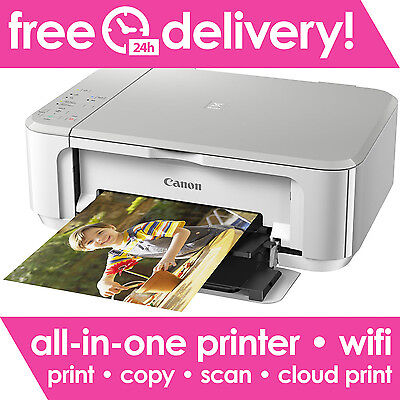 CANON PIXMA MG3650 All-in-One Wireless Inkjet Printer WiFi - Printer Only Deal