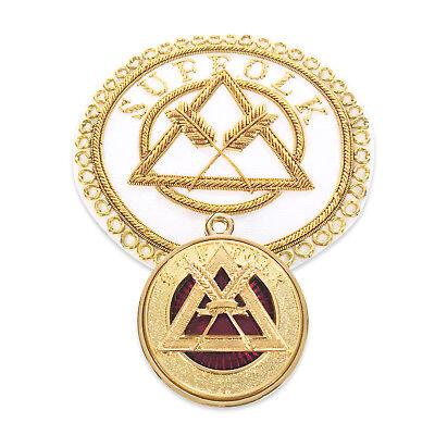 RA Chapter Provincial Badge & Collar Jewel