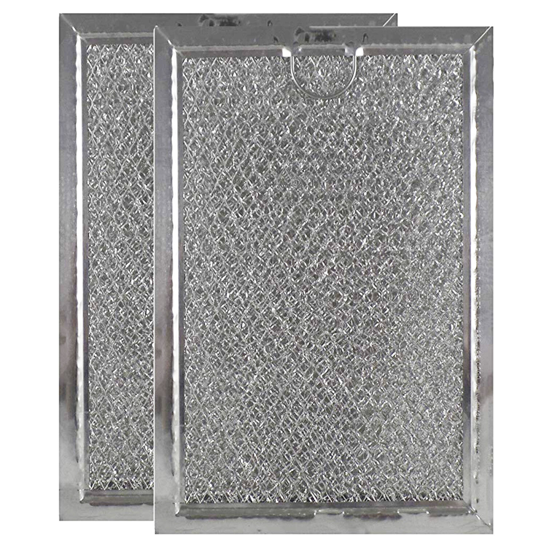 Microwave Filters 2pk Oven Range Hood Screen Aluminum Mesh L