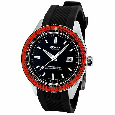 Jenny 5000.10.101.20 Men's Caribbean Black Automatic Watch