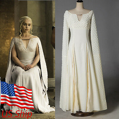 Cosplay Daenerys Targaryen Qarth Dress Game Of Thrones Mother of Dragon - Costumes Games