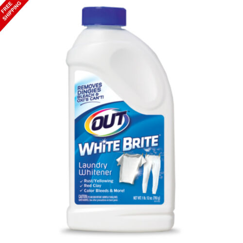 Out White Brite Laundry Whitener,  Cleaner, Brighter and Fresher 28 Ounces