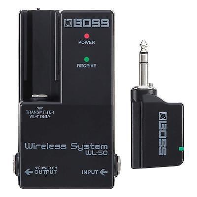 Boss WL-50 Wireless Reciever and WL-T Transmitter FREE -
