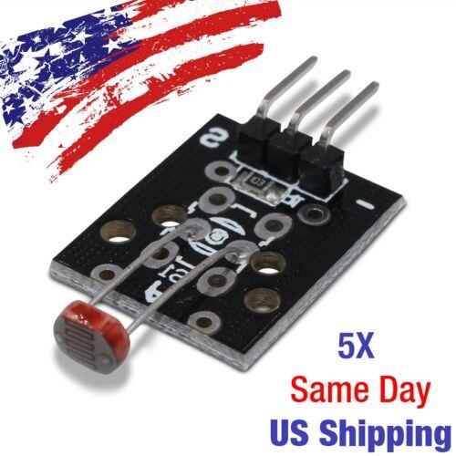 Photosensitive Photoresistor Light Detector Module Resistor Arduino PIC AVR 5PCS