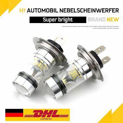 2* H7 140W 26000LM LED Scheinwerfer CSP Birnen Kit Xenon Fahrlicht Weiß 6000K DE