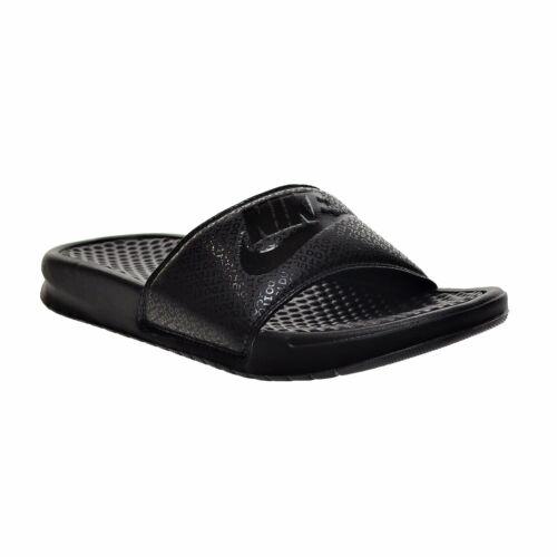 Nike BENASSI JDI Mens Black/Black-Black 343880-001 Slide Sandals