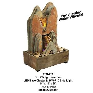 Natural Slate Indoor/Outdoor Water Fountains
