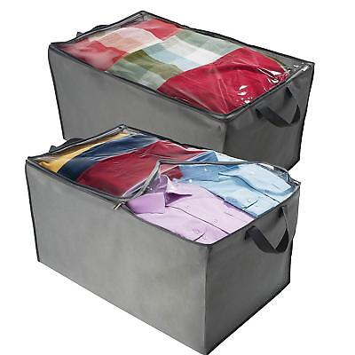 Jumbo Comforter - ZOBER Jumbo Storage Bag, Breathable Blanket, Clothes Storage Bag For Comforter,