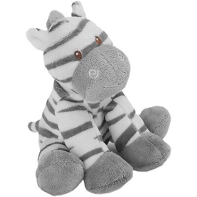 Suki Jungle Friends Zooma Soft Toy Zebra Small Teddy Bear Rattle New Baby Gift