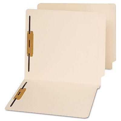 Universal End Tab Folders Two Fasteners Letter Manila 50box 13120