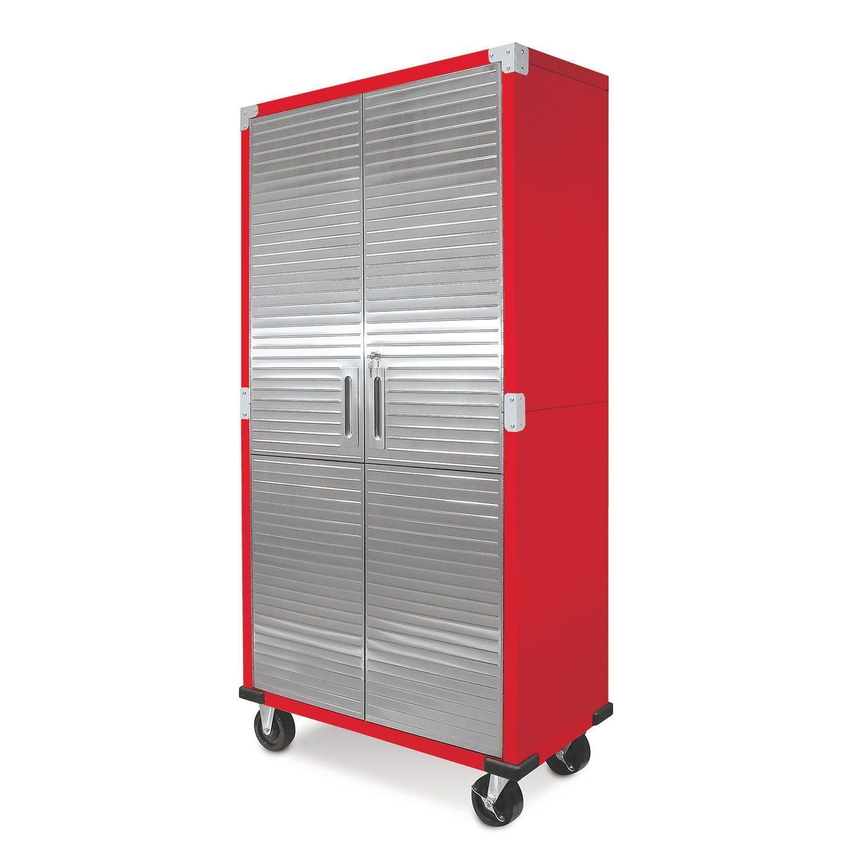 Metal Rolling Garage Tool File Storage Cabinet Stainless Ste