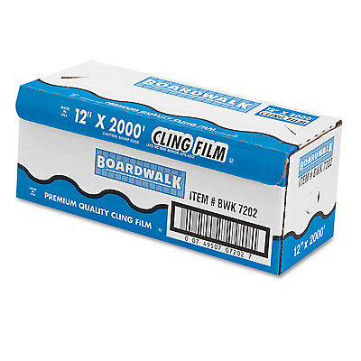 Boardwalk Pvc Food Wrap Film 12 X 2000ft Roll 7202