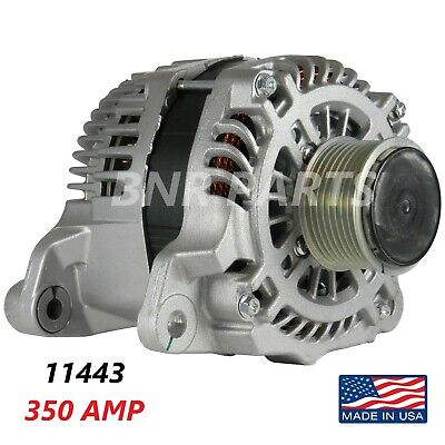350 AMP 11443 Alternator Dodge Ram 6.7L Diesel High Output NEW HD Performance