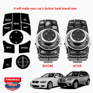 bmw idrive parts & accessories ebay mahindra wiring diagrams idrive repair kit replacement stickers for select bmw vehicles new