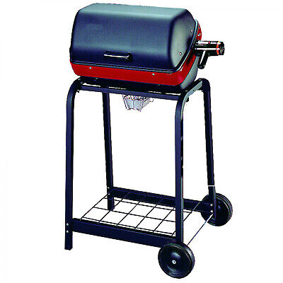 Electric Cart Grill With Wire Shelf Outdoor Cooking Barbecue Grill 1500 Watt New Outdoor Electric Grill