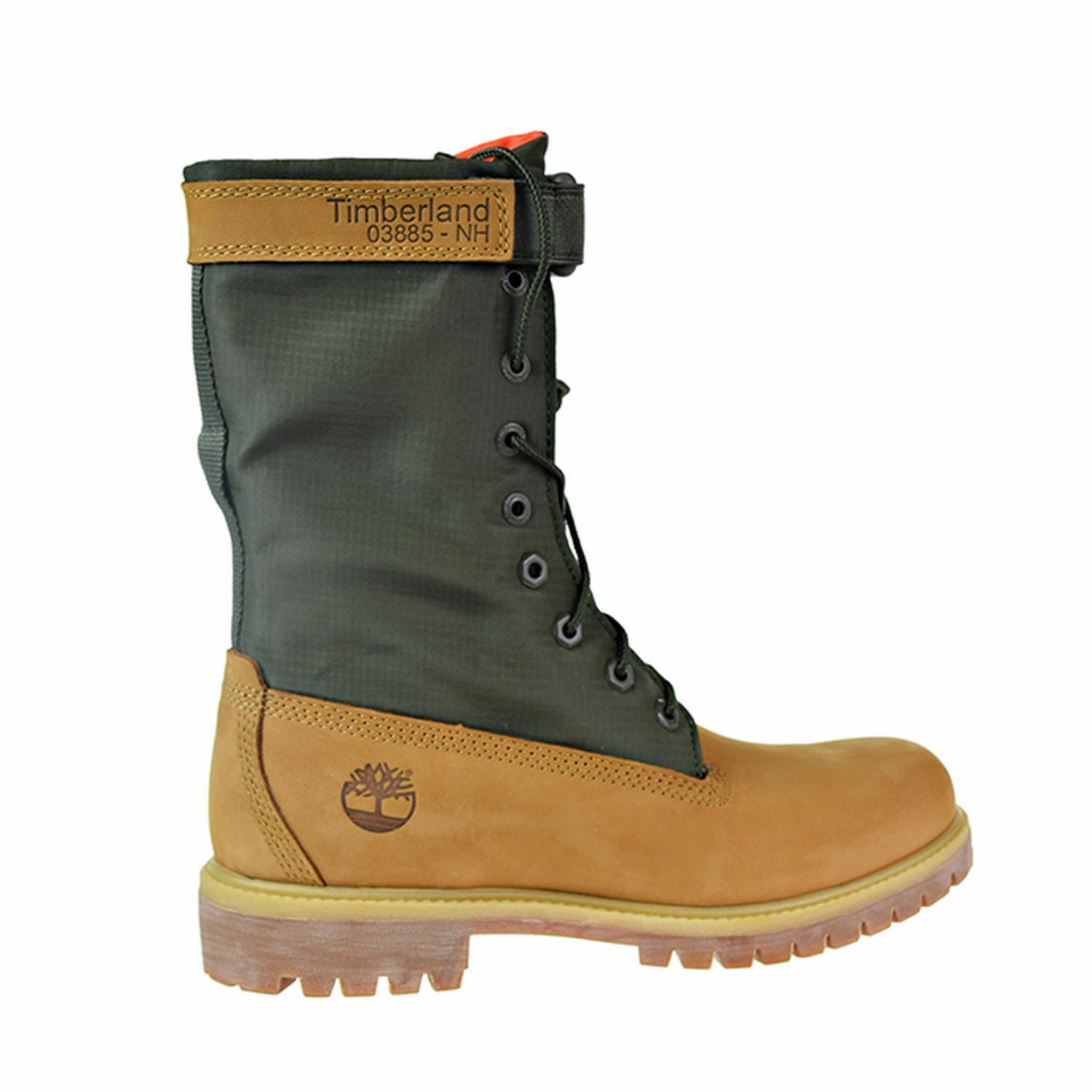 """Timberland 6"""" Premium Gaiter Men's Boots Size 8.5 Limited Release Wheat Green"""