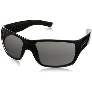 Hoven Times Sunglasses - Black Gloss - Grey Lenses - 43-0101