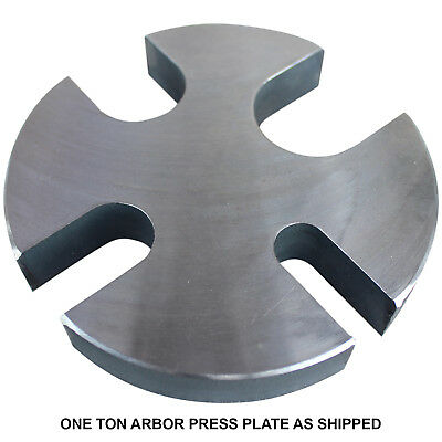 SWAG One Ton Arbor Press Plate -