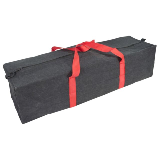 Heavy Duty Canvas Tool Bag With Zip Extra Holdall Case Box Large / Xl Quality