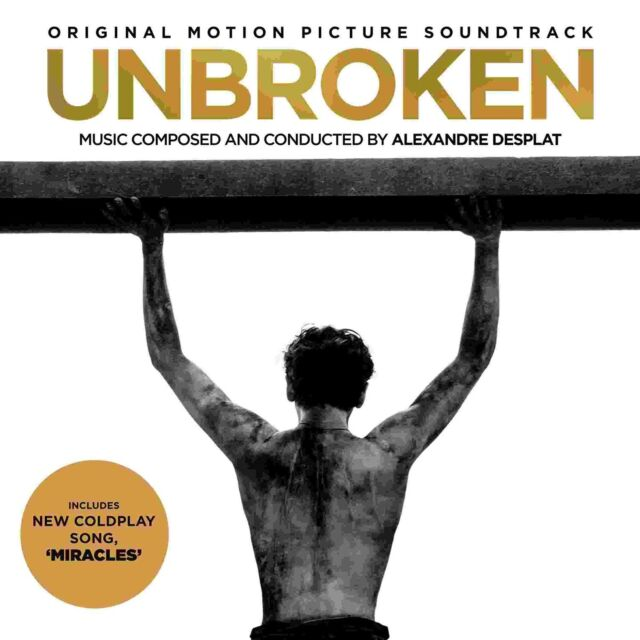 Unbroken (Original Soundtrack) (CD 2014) Alexandre Desplat Coldplay