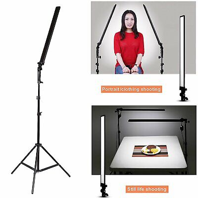 30W LED Fotostudio Video Dimmable Handlicht Licht Softbox + 2M Stand beleuchte