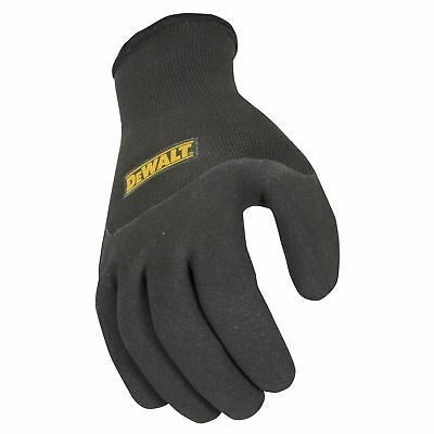 Dewalt Thermal Gripper Cold Weather Lg Work Gloves Winter Dpg737 Glove In Glove