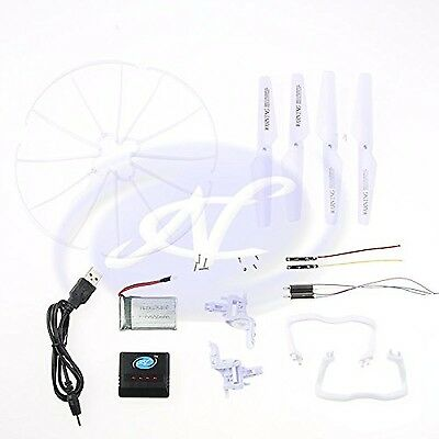 Syma X5 c Quadcopter Replacement Share Set Kit Motor Propeller Landing Skid Drone