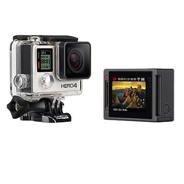 GoPro HERO4 Silver Edition Camera Manufacturer Refurbished