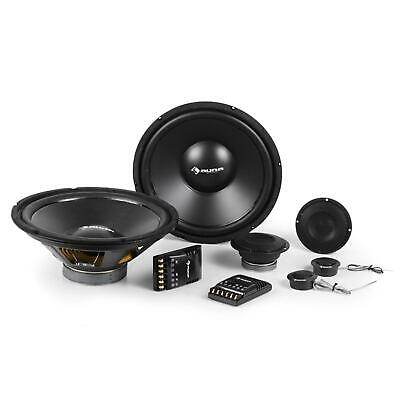 PACK ALTAVOCES COCHE 2 MEDIOS 2 TWEETER 2 GRAVES 2 CROSSOVER 6400W...