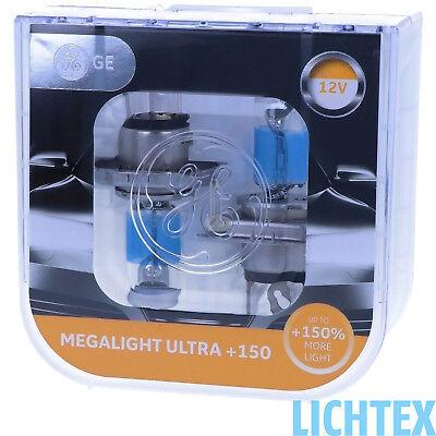GE Lighting Megalight Ultra +150% mehr Licht auf der Strasse Maximale Leistung 250 Night Vision