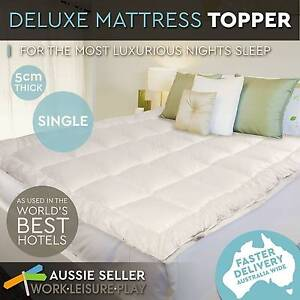 Mattress Topper Luxury Pillowtop Memory Resistant Protect Sizes Perth Perth City Area Preview