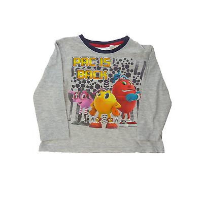 Pacman tee shirt manches longues garçon 3 ans