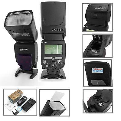 8Yongnuo YN685 Blitzgerät Aufsteckblitz Systemblitz i-TTL für Nikon DSLR Kameras
