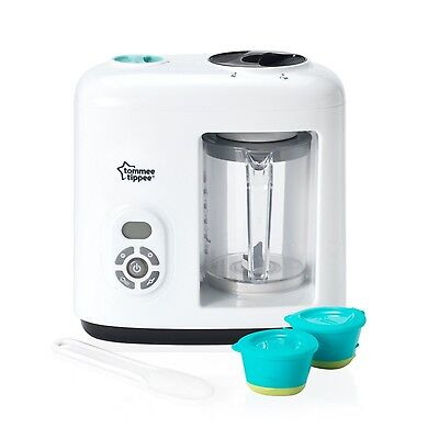 Baby Food Steamer Blender Tommee Tippee with Automatic Timer