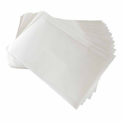 7.5x5.5 Clear Packing List Invoice Label Pouches Shipping Envelopes 1 - 10000