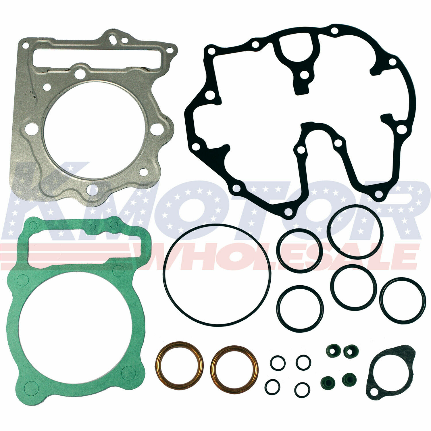 Top End Gasket Kit Set For 1999-2014 Honda Sportrax 400 TRX400EX Honda TRX400X