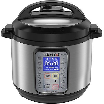 Urgent Pot Duo Plus60 9-in-1 Multi-Use Programmable Pressure Cooker, 6QT NEW