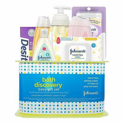 Johnson's Bath Discovery Baby Gift Set, Baby Bath Time Essen