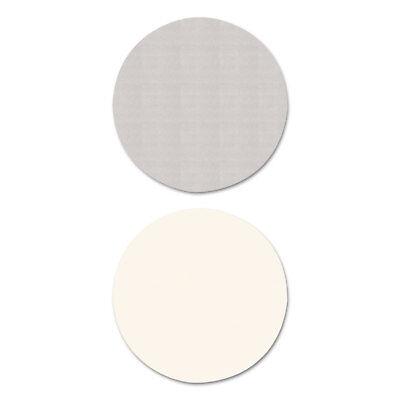 Alera Reversible Laminate Table Top Round 35 1/2 dia. White/Gray TTRD36WG Round Laminate Table