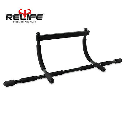 Relife Pull Up Bar for Home Gym Body Workout Doorway Chin Up Multi-Gym Exercise