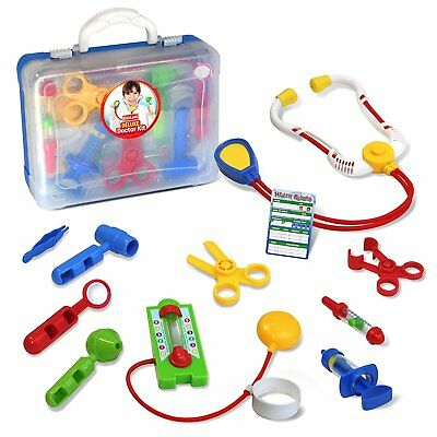 Kidzlane Deluxe Doctor Medical Kit - Pretend Play Set for - Children's Doctor Kit