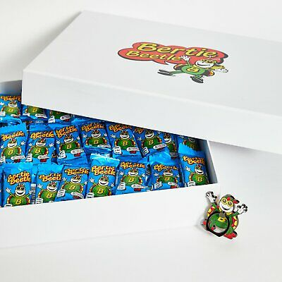 Bertie Beetle Bounty Box - 125 Bertie Beetle chocolates in a gift box with Mobil