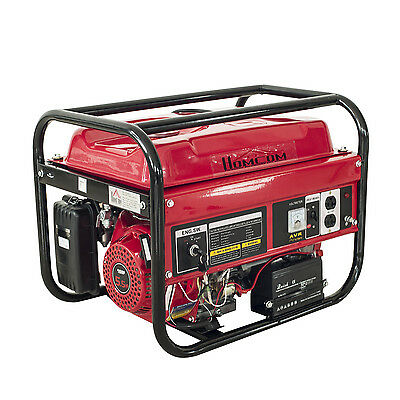 Powered 2200W 5.5HP Gas Generator Electric Start ...