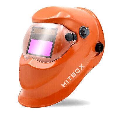 True Color Pro Auto Darkening Welding Helmet Arc Tig Mig Grinding Welders Mask