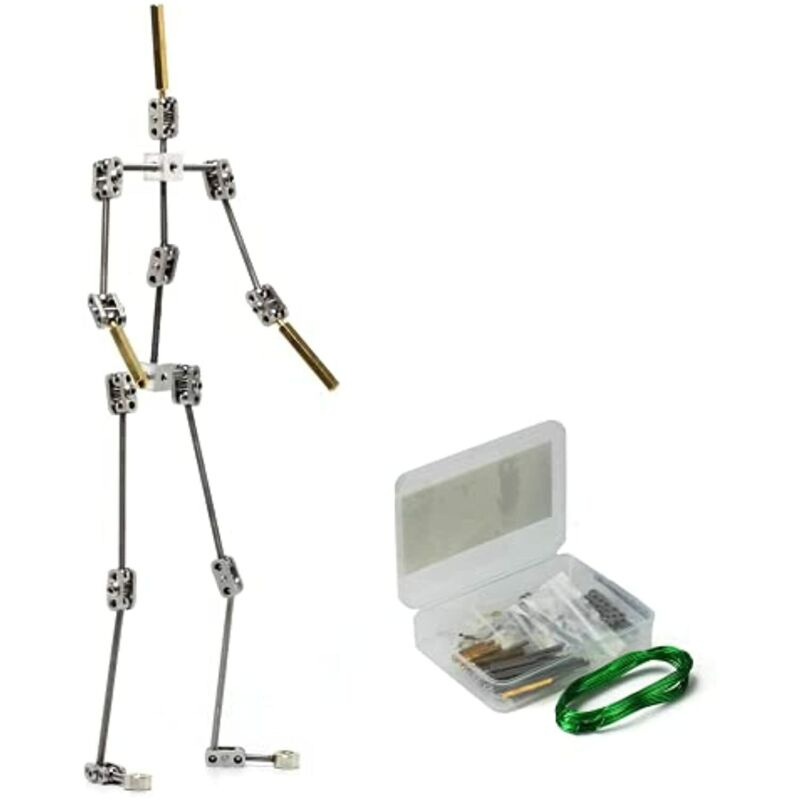 """DIY Studio Stop Motion Armature Kits 11"""" 