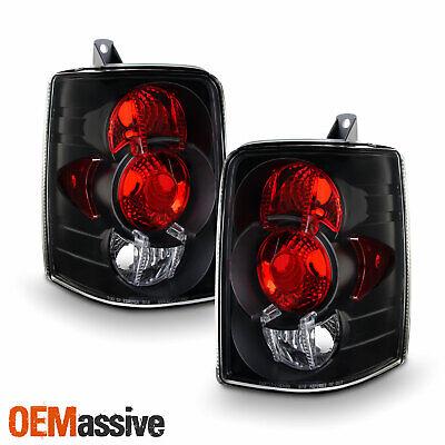 Fits 93-98 Grand Cherokee Sport SUV Black Tail Brake Lights Lamp Pair - 96 Cherokee Tail Lamps