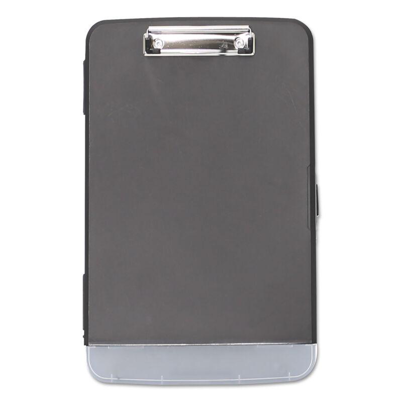 "Universal Storage Clipboard 1/2"" Capacity 8 1/2 x 11 2 Compartments Black 40319"