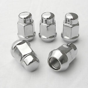WHEEL NUTS ACORN SET OF 20 CHROME 1/2 INCH X 20