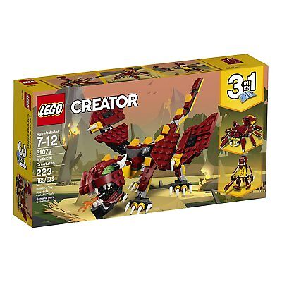 NEW LEGO Creator 31073 Mythical Creatures 3-in-1